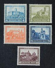 CKStamps: Germany Stamps Collection Scott#B44-B48 Mint H OG