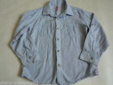 Camisas de niño de 2 a 16 años azul