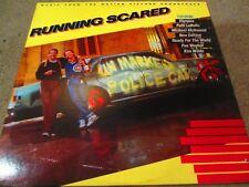 "OST - Running Scared 12"" LP MCA Records RARE UK PRESS 1986 VG+"