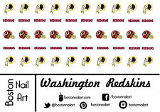 NFL - Washington Redskins Waterslide Nail Decals - 50pc