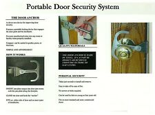 Portable Entry Door Security System