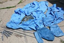 Vintage 1960s EMS Gerry Blue 1-2 Person Camping Tent