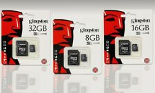 KINGSTON 32GB 64GB MICRO SD MEMORY CARD SDHC 80 MB/S TF CLASS 10 UHS 1 + ADAPTER