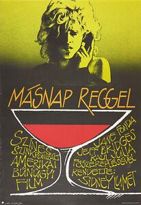 Vtg Orig. Movie Poster THE MORNING AFTER 1989 Fonda, Bridges, Julia  Lumet