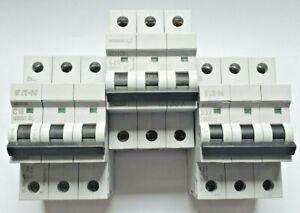 Eaton Bill MEM Memshield 2 Triple Pole TP MCB  Type C&D Free Shipping
