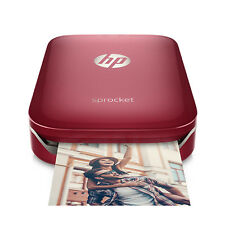 HP Sprocket Zink-Fotodrucker Rot (Z3Z93A)
