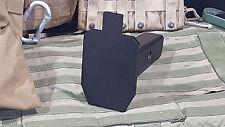 Hitch Cover - IPSC - AR-500 Steel Plate - Powdercoat Black