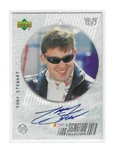 1999 UD RTTC SIGNATURE Collection Checkered Flag Tony Stewart BV$40! SWEET!