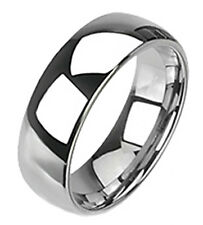 Spikes Tungsten Wedding Band Ring Size 5.5