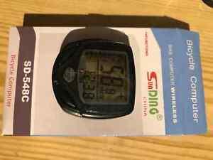 Wireless LCD Digital Waterproof Bike Computer Cycle Speedometer