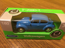 Welly - Volkswagen VW Beetle Escarabajo - Azul - Blue - 1:60 - dieacast - 52222W