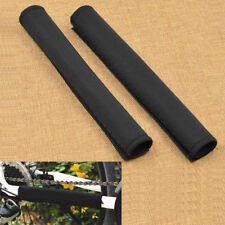 For Mountain Bike Cycling Frame Chain Stay Protector Guard Pad Cover Wrap Black