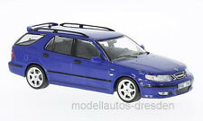 Saab 9-5 Sport Station Wagon 2002 Aero Blue 1 43 Model PremiumX