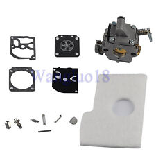 Carburetor Carb Rebuild Repair Kit Fit STIHL Chainsaw 018 MS 170 MS 180