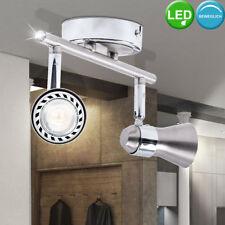 LED Iluminación de techo plata Salón ESS Habitación Foco Reflector Lámpara Luz