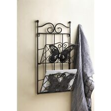 NEW Home Gifts Butterflies Elegant Charming Mail Wall Rack Chic Decor 10018400