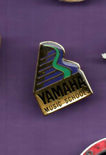 Yamaha Music Schools  - Metal Acrylic lapel badge