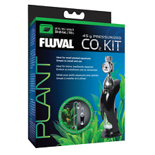 NEW Fluval 45g Pressurised CO2 Kit - Grow Lush Vibrant Aquarium Plants Upto 115L