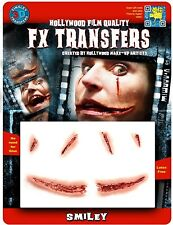 Tinsley Transfers Smiley Prosthetic Special Effects Makeup Horror 3D FX