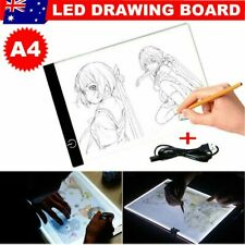 Ultra Thin A4 LED Art Stencil Board Light Tracing Drawing Pad Brightness