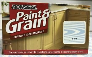 Ronseal Paint & Grain Included Graining Tool Blue 1.5ltr