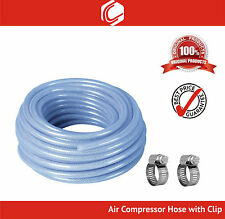 8mm High Quality Air Compressor Hose Length -10 meters with free 2 clips