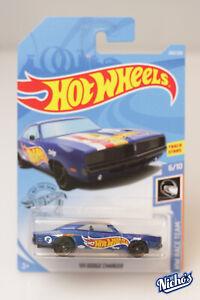 Hotwheels '69 Dodge Charger [BLUE] HW RACE TEAM  #243/250