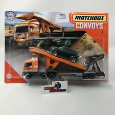 Cabover w Auto Transport & 2011 Mini Countryman * Convoys 2020 Matchbox Case B