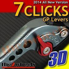 7 Click GP 3D Adjustable Levers for Yamaha MT-07 / FZ-07 14-16