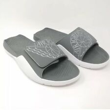 check out 47a1e 73544 Nike Air Jordan 7 Hydro VII Slides Sandals Slippers Grey White UK 16 EUR  51.5