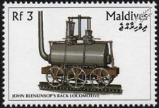 John Blenkinsop (Middleton Railway) Rack Locomotive Train Stamp
