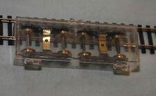 Unknown Mfg. Model Train Metal Trucks in Plastic Case HO