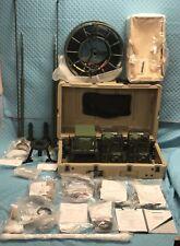 Harris Radio FALCON III Multiband Dual PA Repeater W/Dual VAA VHF UHF SATCOM NOS
