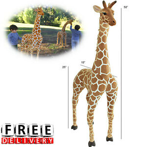 Jumbo Stuffed Animal 50 Inch Tall Extra Giant Big Kid Child Large Giraffe Plush