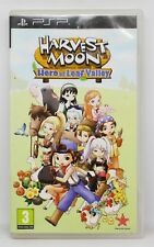 HARVEST MOON HERO OF LEAF VALLEY - PSP - PAL