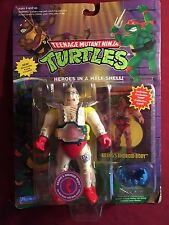Vintage 1994 Teenage Mutant Ninja Turtles Krang Android Body with collector card