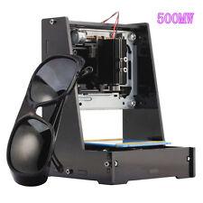 500MW Dual USB Laser Printer Cutter Machine de Gravure Graveur Imprimante JZ-5