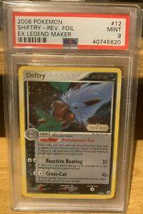 Shiftry EX Legend Maker Reverse Holo 12/92 PSA 9 Mint POP 5 Pokemon 2006