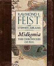 MIDKEMIA : THE CHRONICLES OF PUG - Raymond E. Feist (Hardcover 2013, Free Post)