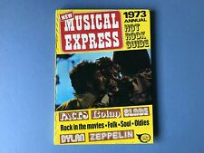 More details for new musical express annual 1973 - nme