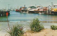(V)  Monterey, CA - Fisherman's Wharf from Shoreline