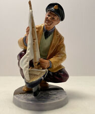 Royal Doulton Figurine Sailor'S Holiday Signed Hn 2442 Hand Made &Hand Decorated