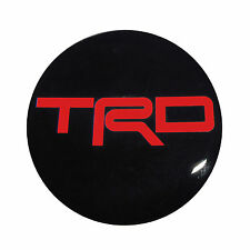 Scion FRS ,Toyota 86, GT86,  86 wheel center cap stickers in red trd