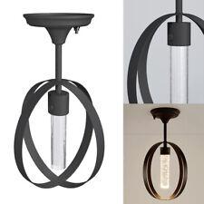 12v Retro Rv Led Interior Dinette Ceiling Light Fixture Decor Cage Lamp Camper