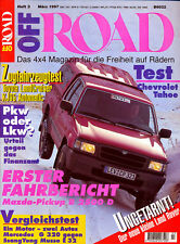Off Road 3 97 Landy CB 40 Tahoe B2500D KJ95 Mercedes G320 Ssang Yong Musso 1997