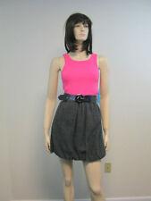 Alice + Olivia Bubble-Hem Knit Tank Dress  L 10 US