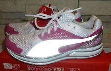 0ae99bbd26c6 New Puma Faas 800 women sneakers white pink raspberry rose winners running