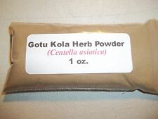 1 oz. Gotu Kola Herb Powder (Centella asiatica)