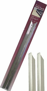 "Vance 23-3/4"" Long Stainless Steel Counter Trim Kit for Backless/Slide-in Stoves"