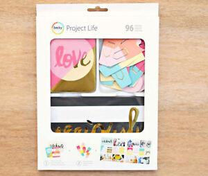 PROJECT LIFE [Mix & Match]  Gold Foil Value Kit - ( 96 Pieces)  Save 60%